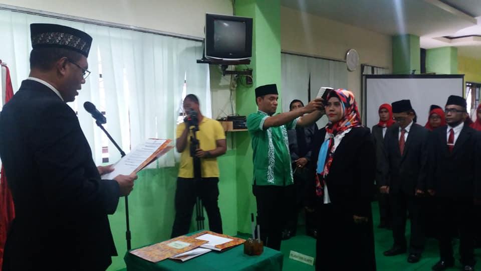 Pelantikan Ketua STIH Umel Mandiri Jayapura